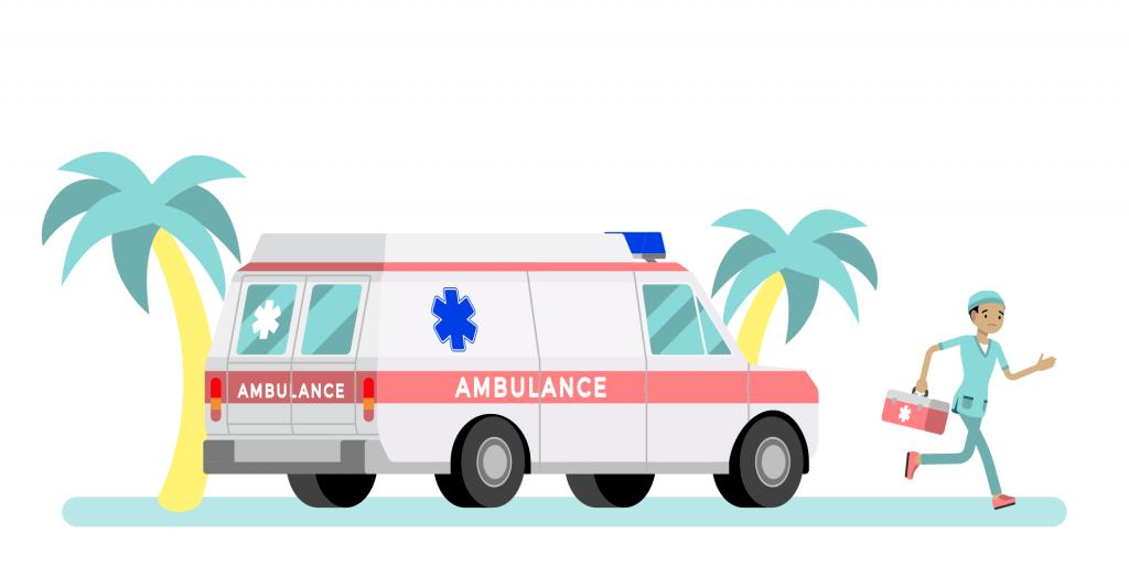 Ambulance in Thailand